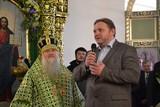 В торжествах в день памяти преподобного Матфея Яранского Чудотворца приняли участие и прихожане Серафимовского Собора г. Вятка